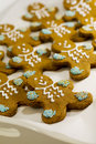 Free Gingerbread Men Cookies Royalty Free Stock Photography - 6153057