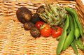 Free Produce In Basket Royalty Free Stock Image - 6156946