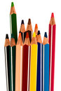 Free Beautiful Color Pencils Royalty Free Stock Photography - 6158387