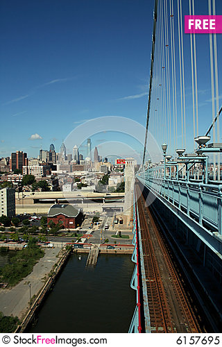 Free City From A Bridge Royalty Free Stock Photo - 6157695