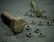 Free Nut And Bolts 1 Stock Photos - 6150463