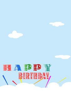 Free Birthday Card Stock Photo - 6150680