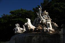 Fountain In Vienna
