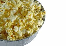 Free Dish Of Popcorn Stock Photography - 6150862