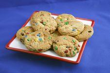 Free Rainbow Chip Cookies Stock Photo - 6150870