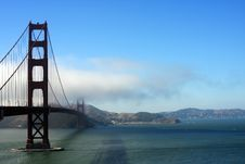 Free Golden Gate Bridge Royalty Free Stock Photos - 6151348