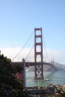 Free Golden Gate Bridge Stock Image - 6151391