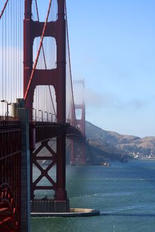 Free Golden Gate Bridge Royalty Free Stock Photos - 6151408