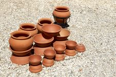 Earthenware Stock Photo