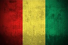 Free Grunge Flag Of Guinea Stock Photography - 6151872