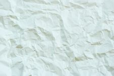 Crushed Paper Royalty Free Stock Photo