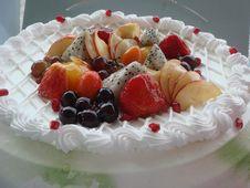Free Fruit Cake02 Royalty Free Stock Photo - 6152855