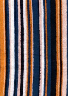 Wool Striped Fabric Textile Texture Stock Photography
