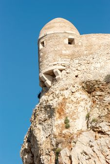 Free Tower Of Ancient Fortress Royalty Free Stock Photos - 6153528