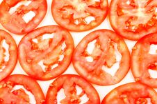 Background From Slices A Tomato Stock Images