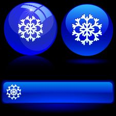 Free Beautiful Snowflake. Royalty Free Stock Image - 6154616