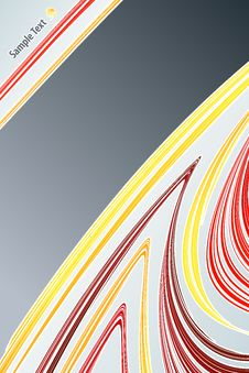 Free Lined Art Abstract With Empty Stripe Stock Photos - 6155173