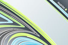 Free Lined Art Abstract With Empty Stripe Royalty Free Stock Photo - 6155275