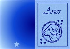 Free Aries Card Stock Photo - 6155480