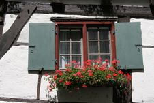 Free Window On A Half-timbered House Royalty Free Stock Photo - 6155605