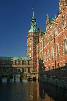 Frederiksborg Castle, Hillerod, Denmark Royalty Free Stock Photography