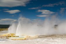 Free Geyser Stock Photography - 6156492