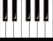 Free Illustration Of Piano Keys Stock Image - 6156811