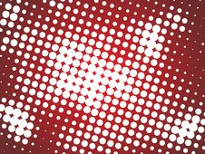 Free Abstract Halftone Background Royalty Free Stock Photo - 6156905