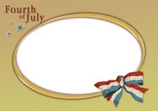 Free 4th July Template 09 Royalty Free Stock Images - 6157209