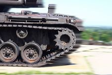 Free Tank In Motion Royalty Free Stock Photography - 6157437