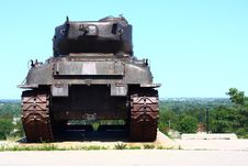 Free US Tank From Back Stock Image - 6157451