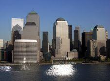 Free Futuristic Manhattan Royalty Free Stock Photo - 6157485
