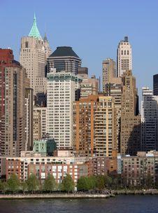 Evening Manhattan Stock Photos