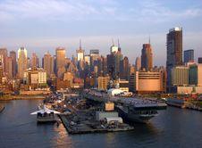 Free Sunset In Manhattan Stock Photos - 6157593