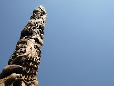 Free Totem Pole Royalty Free Stock Image - 6157736