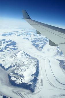 Free Bird S Eye View On Greenland Royalty Free Stock Image - 6158126