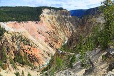 Free The Grand Canyon Of The Yellowstone Stock Images - 6158154