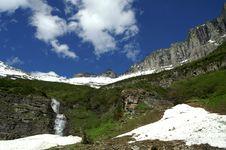 Free Glacier National Park Stock Image - 6158171