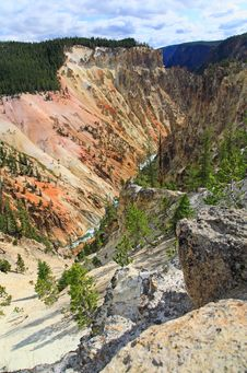 Free The Grand Canyon Of The Yellowstone Stock Images - 6158184