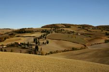 Free Tuscany In Autumn Stock Photo - 6158310