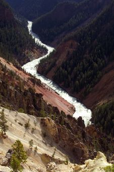 Free Yellowstone River Stock Photography - 6158372