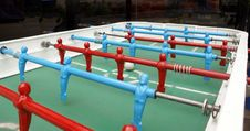 Free Table Soccer Royalty Free Stock Photography - 6158617