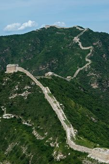 Free The Great Wall Royalty Free Stock Images - 6159619