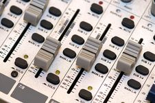 Free Sound Mixer Stock Photo - 6159820