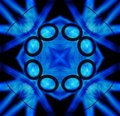 Free Black And Blue Tile Pattern Background 2 Stock Photography - 6162332