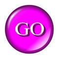 Free Aqua Web Start Button Go Royalty Free Stock Image - 6165716