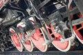 Free Steam Locomotive Wheels Stock Image - 6166201