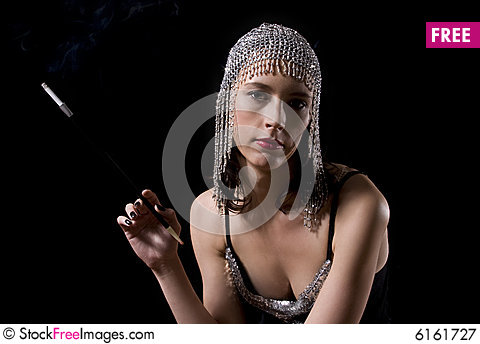 Free Prostitute Smoking Royalty Free Stock Photography - 6161727