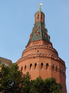 The Kremlin Tower Royalty Free Stock Photos