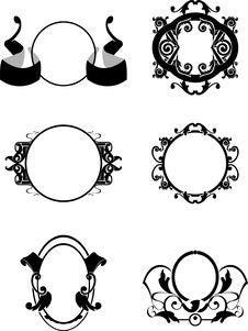 Free Decorative Frames Royalty Free Stock Image - 6160926